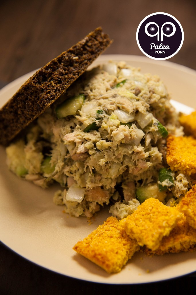 Monster Paleo Tuna Sandwich
