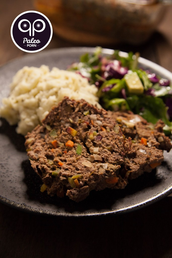 Paleo Meatloaf with Liver