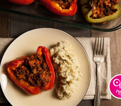 Paleo Recipe Greek Paleo Stuffed Peppers