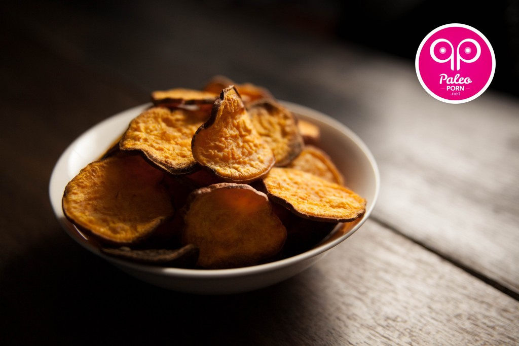 Paleo Sweet Potato Chips