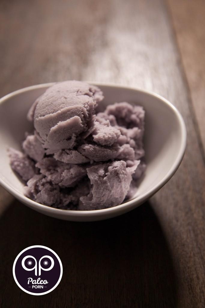 Paleo Ube Ice Cream