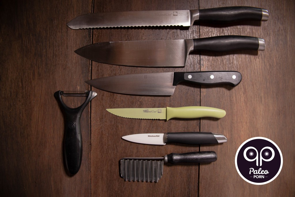 Minimalist One Knife Paleo Guide to Knives