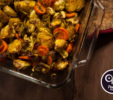 Paleo Recipe ​Indian Spiced Brussels & Carrots