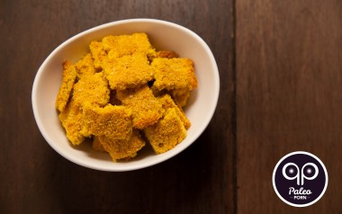 Paleo Recipe Homemade Cheez-It Baked Paleo Crackers