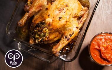 Paleo Recipe Stuffed BBQ Paleo Chicken