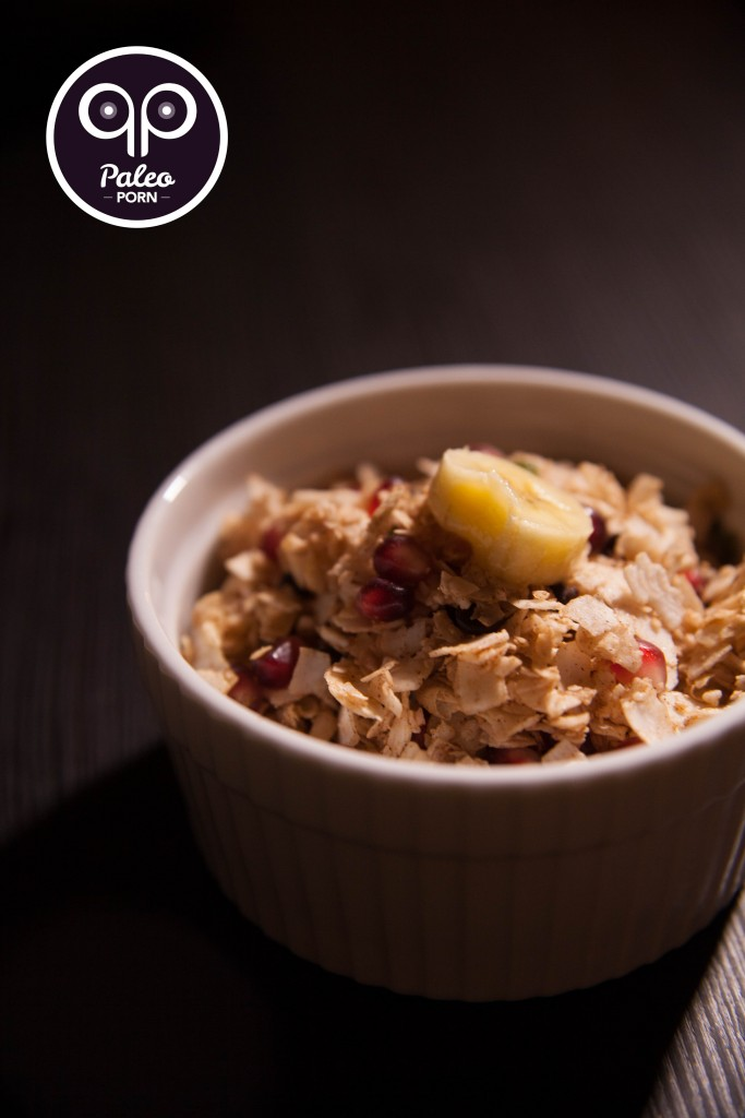 Banana Coconut Paleo Breakfast Cereal