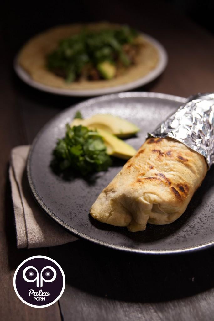 Loaded Liver Burrito