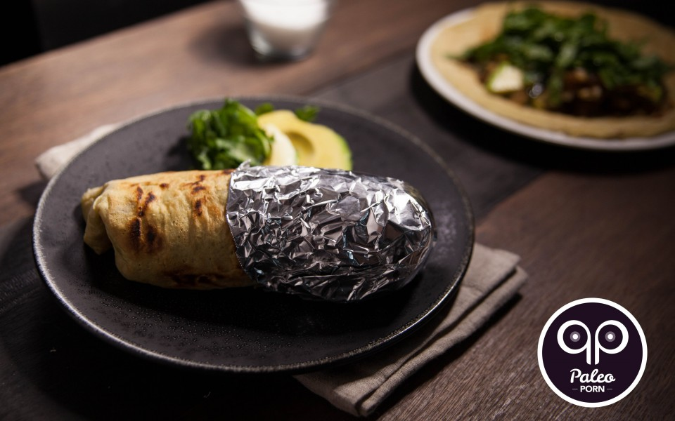 Paleo Recipe Loaded Liver Burrito