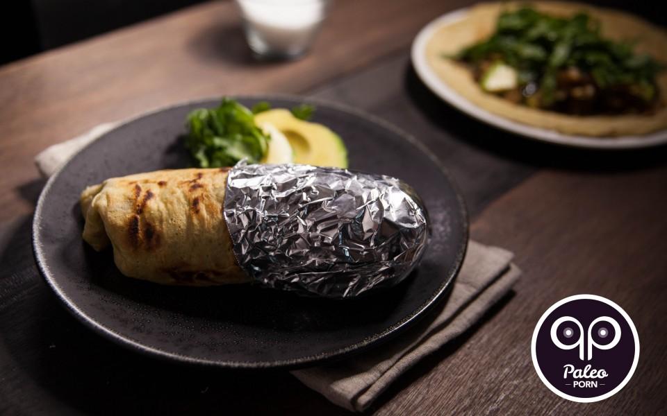 Paleo Recipe Loaded Liver Burrito