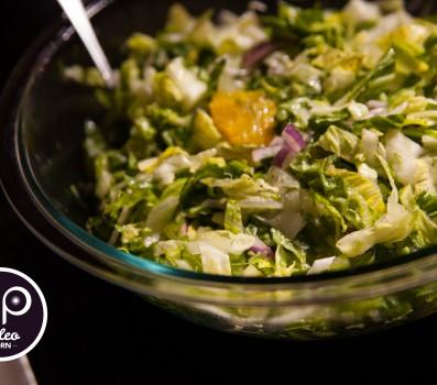 Paleo Recipe Romaine Salad with Orange and Fennel
