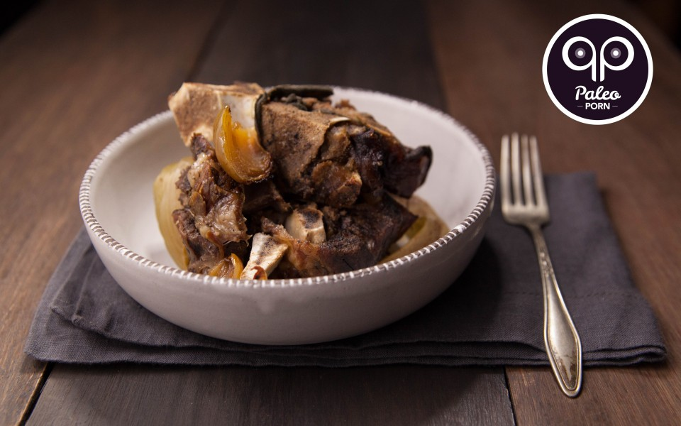 Paleo Recipe Slow Cooked Beef Neck Bones