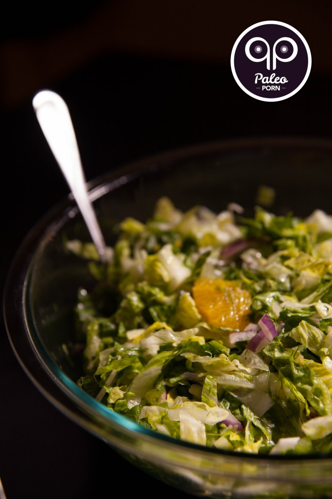 Romaine Salad with Orange and Fennel