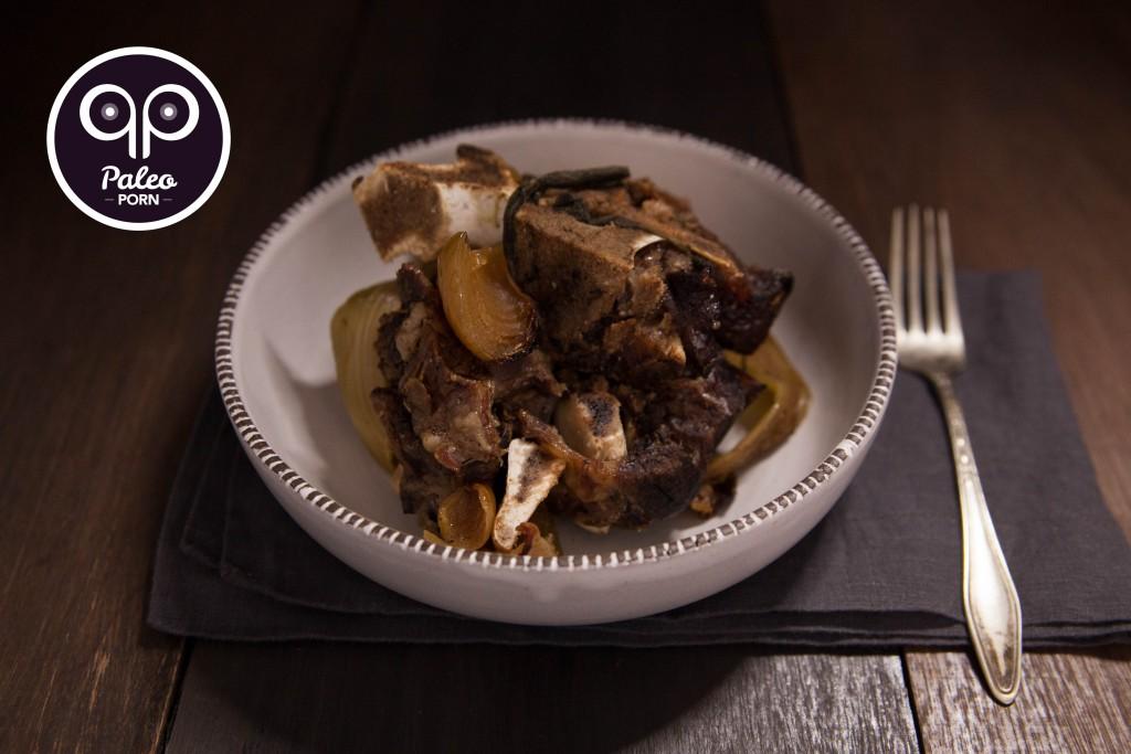 Slow Cooked Beef Neck Bones