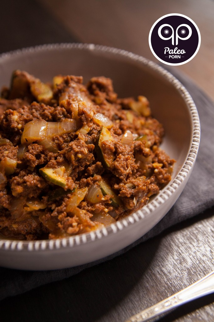 Spicy Paleo Sloppy Joe