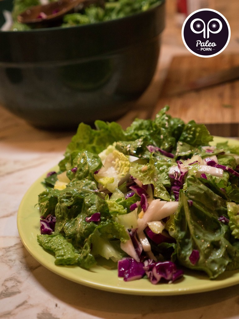 Asian Paleo Romaine Salad