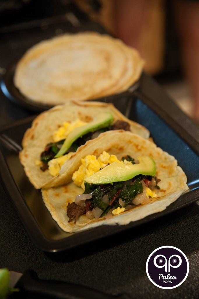 Carne Asada Paleo Breakfast Tacos
