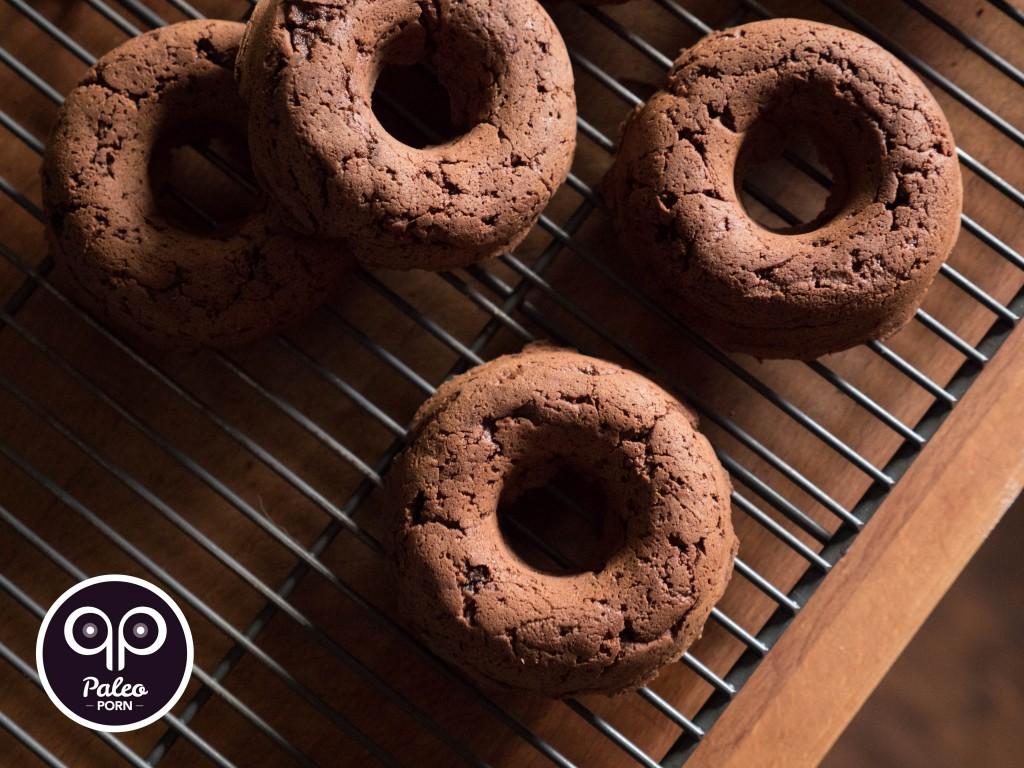 Chocolate Cake Paleo Donut
