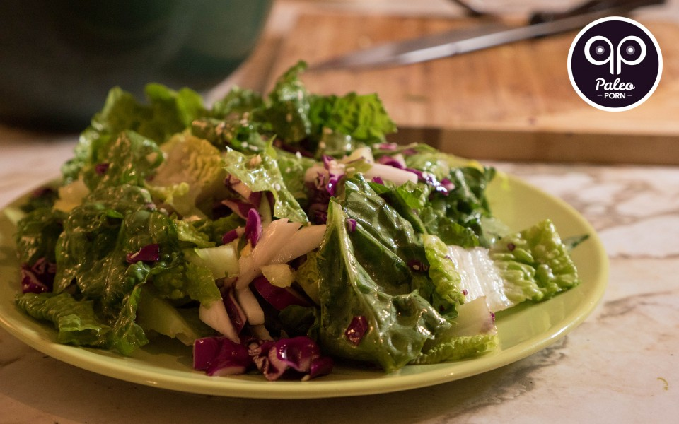 Paleo Recipe Asian Paleo Romaine Salad