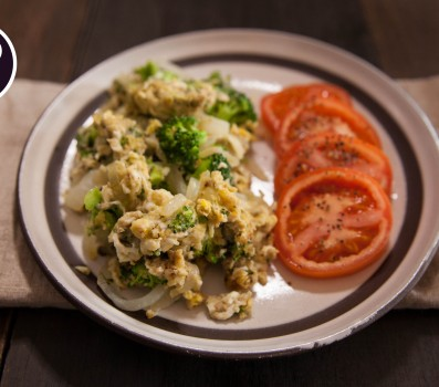 Paleo Recipe Paleo Breakfast Scramble with Broccoli