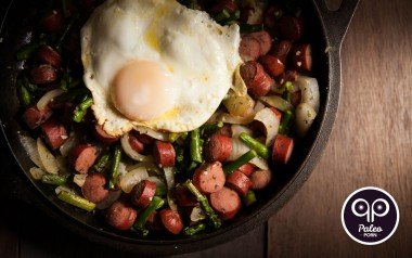 Paleo Recipe Paleo Breakfast Stir-Fry with Hot Dogs