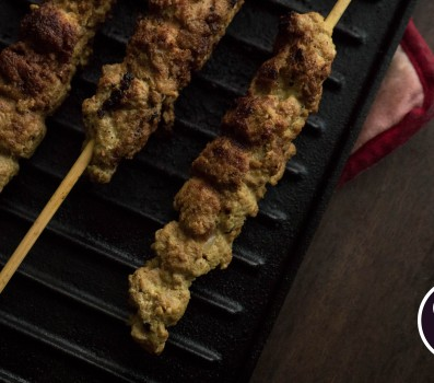 Paleo Recipe Paleo Ground Turkey and Bacon Curry Skewers