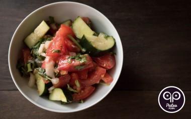 Paleo Recipe Tomato Cucumber Salad