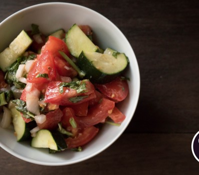 Paleo Recipe Tomato Cucumber Salad
