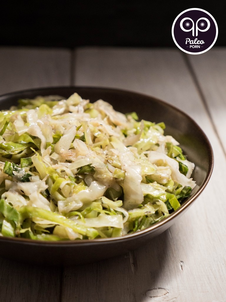 Paleo Braised Cabbage