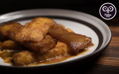 Paleo Recipe Caramelized Pineapple