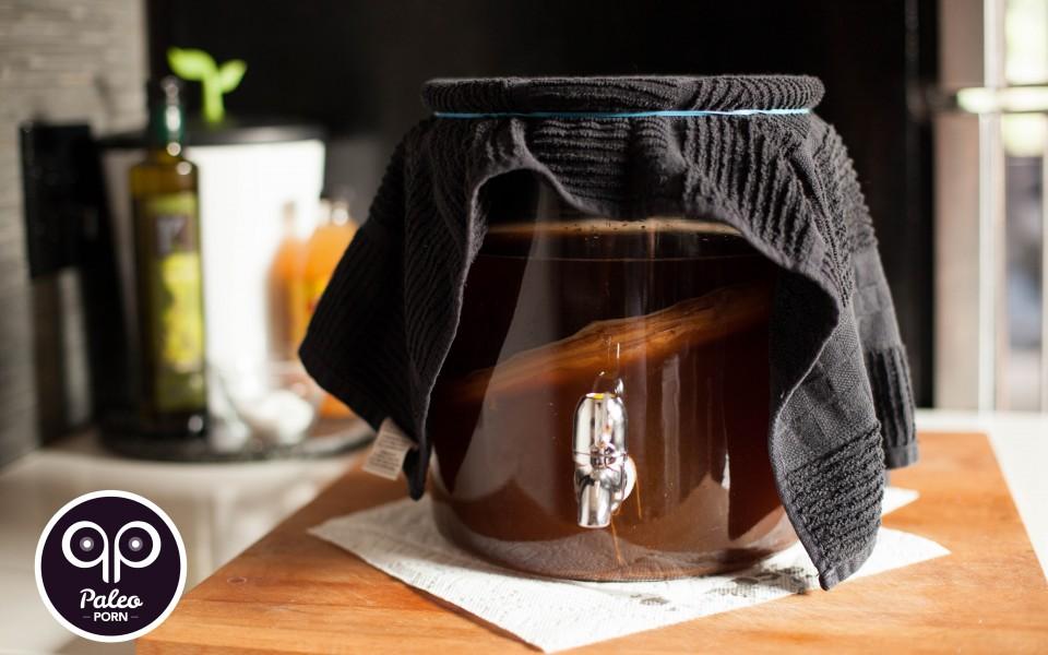Paleo Recipe - How To Make Kombucha Tea - Kombucha Recipe