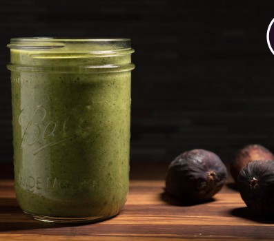 Paleo Recipe Paleo Green Fig and Mint Smoothie
