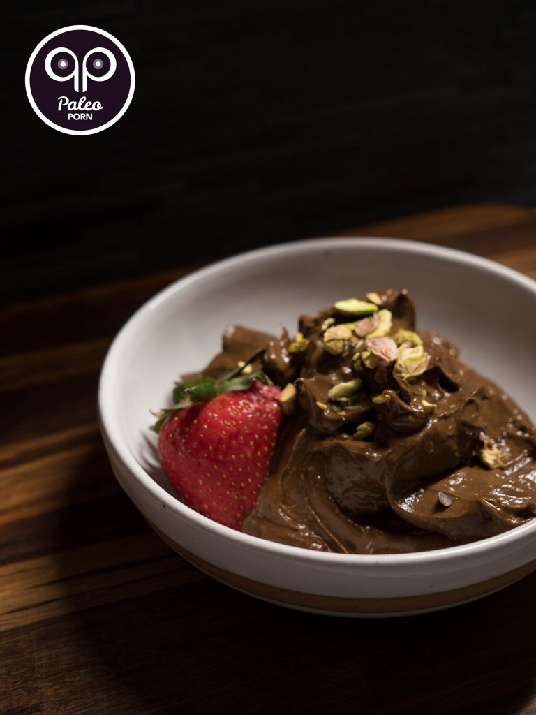 Raw Paleo Chocolate Mousse