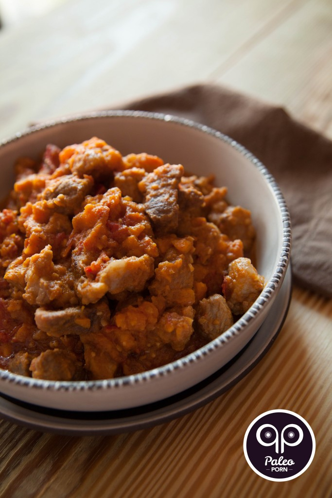 Paleo Curry Pork