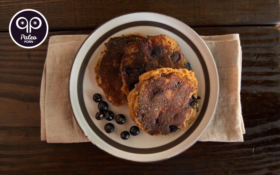 Paleo Recipe Berry Bliss Paleo Pancakes