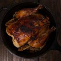 Paleo Recipe Cast Iron Whole Paleo Chicken with Rosemary