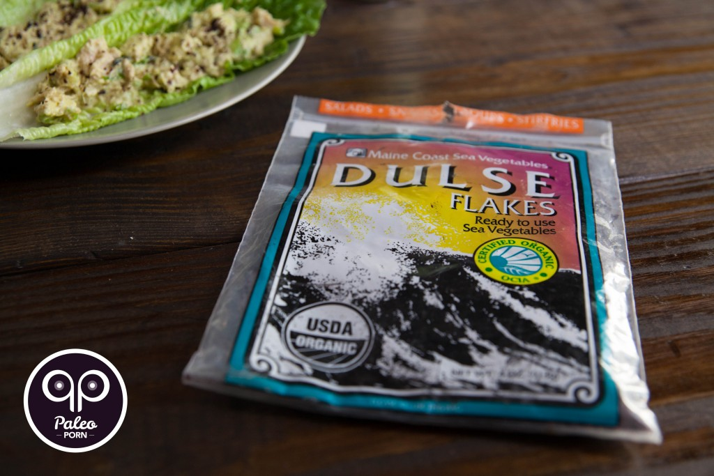 Paleo Tuna Salad Dulse Flakes