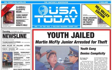USA Today - Back to the Future