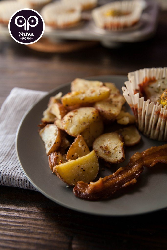 Garlic & Herb Paleo Breakfast Potatoes