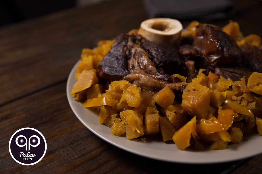 Grass-fed Beef Arm Roast with Squash