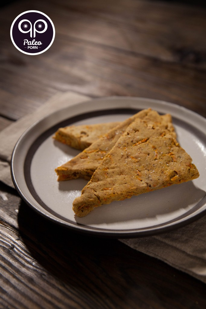 Spiced Carrot Paleo Scones - Nut Free