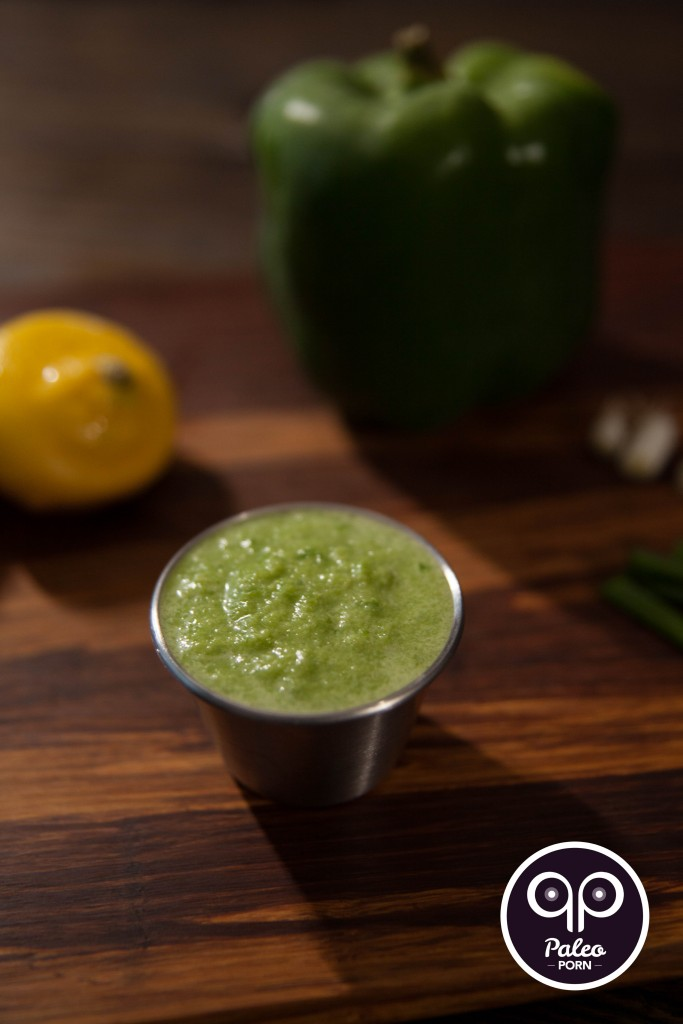 Lemon Pepper Paleo Green Sauce 01