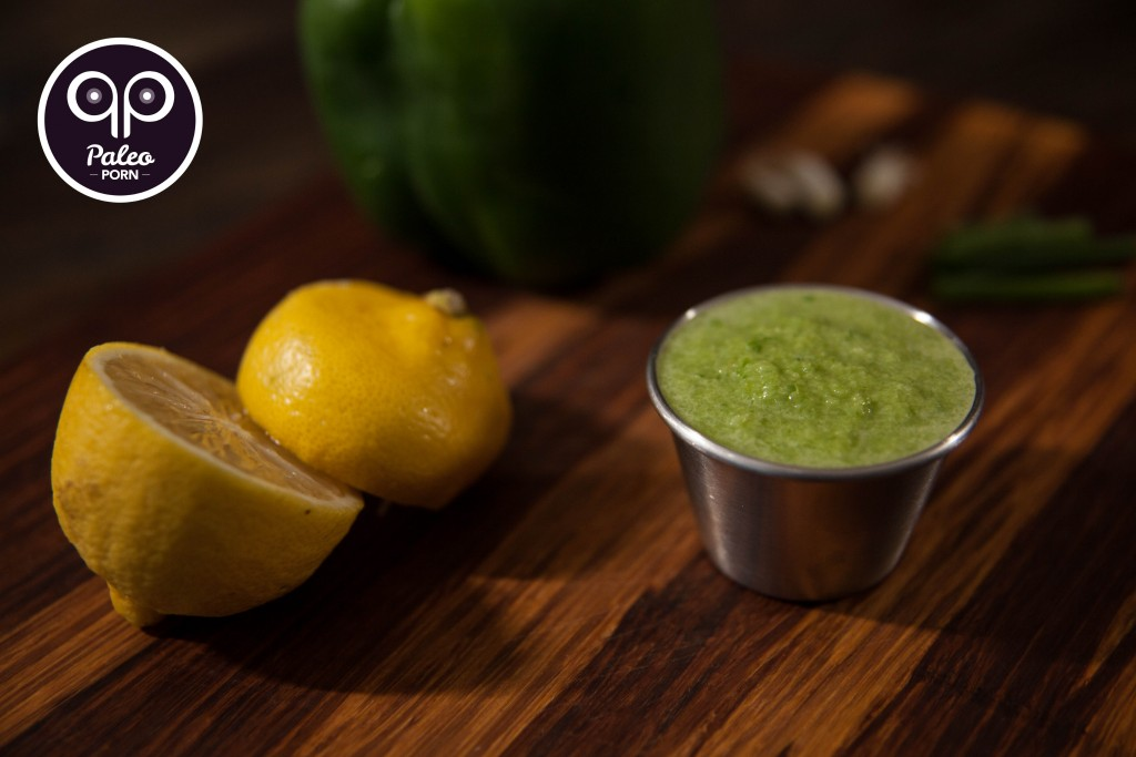Lemon Pepper Paleo Green Sauce 02