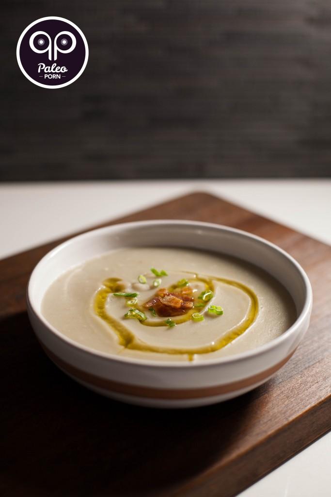 Paleo Baked Potato Soup