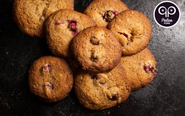 Paleo Recipe Pecan and Cranberry Paleo Cookies