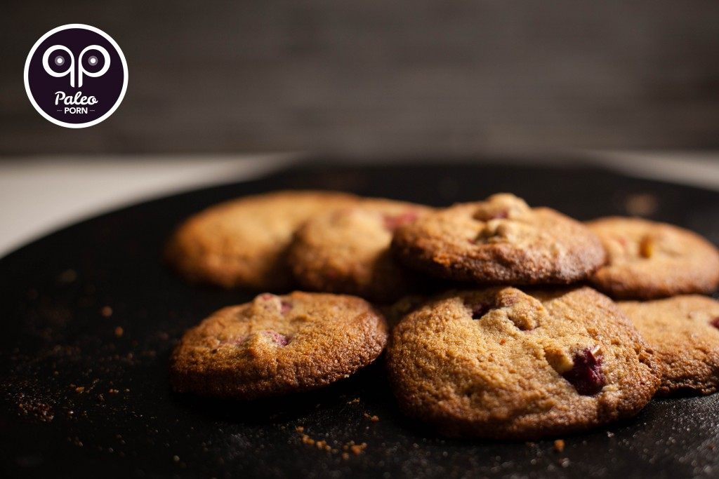 Pecan and Cranberry Paleo Cookies
