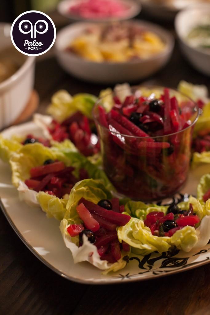 Marinated Beet Salad (Sałatka z Buraków)