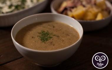 Paleo Recipe Dried Mushroom Paleo Soup (Wigilijna Zupa z Suszonych Grzybów)