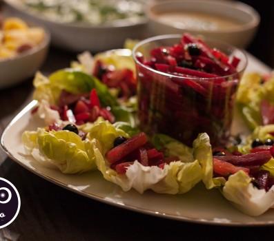 Paleo Recipe Marinated Beet Salad (Sałatka z Buraków)