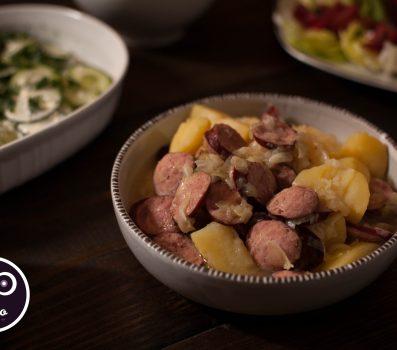 Paleo Recipe - Polish Sausage and Cabbage Stew