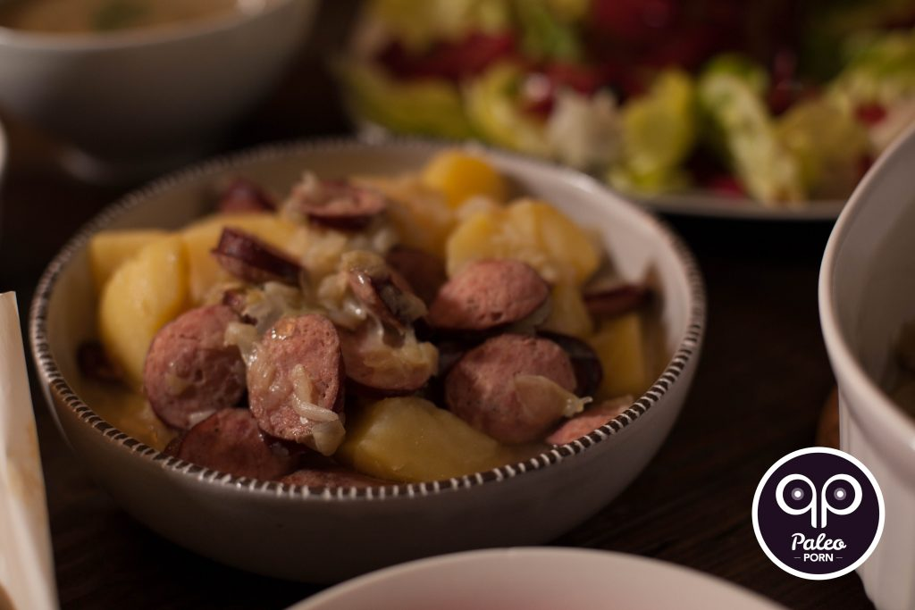Paleo Recipe - Polish Sausage and Cabbage Stew